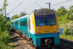 Transport for Wales 175105 (Mike McNiven) Tags: transportforwales tfw wales transport gatley manchester manchesterairport airport llandudno alstom dmu diesel multipleunit