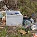 Trash Discarded at Kasota Pond North