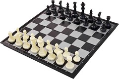 Chess (Vernon Barford School Library) Tags: chess strategy game games strategygame strategygames classic classics magnetic smallspace portable vernon barford library libraries new recent junior high middle school vernonbarford