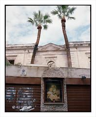 Urban 26 (Luca Moroni) Tags: urban city città palermo sicilia sicily italy saint faith color pentax mediumformat 67 6x7 120 film portra400 kodak 75mm filmisnotdead filmphotography