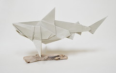 Bull Shark (Ponadr) Tags: origami paper fold geometric art sculpture