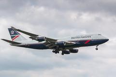 The 90s throwback, London Heathrow (Angus Duncan) Tags: ba baheathrow baretro baretro747 landor balandor747 balandor gbnly bnly british britishairways britishairways747 britishairwaysboeing747 britishairwaysboeing747400 britishairways744 landor747 britishairwayslandor retro retrolivery retrojet london londonheathrow londonheathrowairport england britain uk landing runway egll lhr gb ba100 boeing747 boeing jumbo jumbojet bajumbo bajumbojet baboeing747400 ba747 retro747