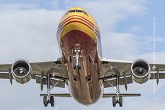 A310 DHL (José Mª Arroyo) Tags: jabkdos jmarroyo jab josémªarroyo airbus a310 cargo avionescomerciales aviacióncivil aviación sevilla