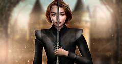 Not Today (meriluu17) Tags: arya stark got aryastark girlhasnoname no name needle sword warrior gameofthrones portrait people