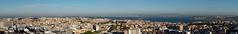Panoramablick über Lissabon (Carsten Weigel) Tags: panorama lissabon lisboa lisbon aussicht rundblick view viewpoint amoreiras360° city stadt rio tejo river fluss carstenweigel panasonicg9 panasonic14140mmf3556