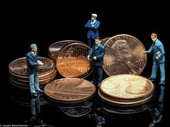 Tiny people - Diskussion um kleine Münzen (J.Weyerhäuser) Tags: 187 copper h0 kupfer preiser tinypeople