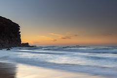Coastal Sunrise Seascape and Redhead Bluff (Merrillie) Tags: redheadbeach sunrise newcastle dawn newsouthwales sea nsw beach ocean lakemacquarie headland bluff coastal redhead outdoors seascape landscape coast australia seaside