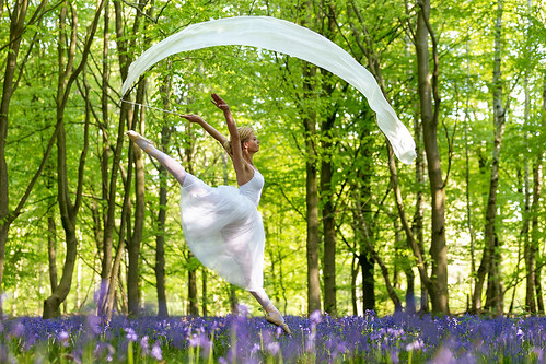 Dances with bluebells # 18