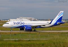 F-WWBO Airbus A320 Neo Indigo (@Eurospot) Tags: vtijc fwwbo airbus a320 8932 indigo toulouse blagnac