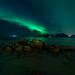 Aurora Borealis in Lofoten Norway