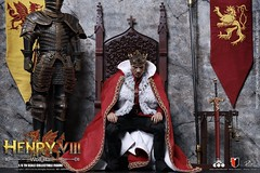 COOMODEL 20190516 CM-SE048 Henry VIII (Wolf Hall Ver Stage Only) - 01 (Lord Dragon 龍王爺) Tags: 16scale 12inscale onesixthscale actionfigure doll hot toys coomodel