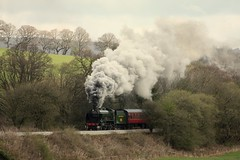 Grosmont departure (Jacobite52) Tags: 926 repton grosmont northyorkshiremoorsrailway nymr railway train steam southern