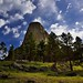 Under Beautiful Blue Skies One Thursday Morning (Devils Tower National Monument)
