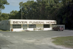 Postcard from Key Largo (ADMurr) Tags: fl key largo home cremation m5 kodak portra 160 50mm summicron dba902 leica funeral