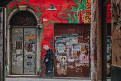 Urban Jungle (FButzi) Tags: genova genoa liguria italy italia palazzo facciata dipinta centro storico vicoli caruggi