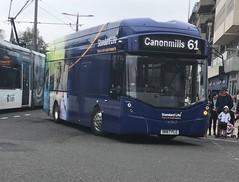 Lothian Buses 288 SK67 FLG (29/04/2019) (CYule Buses) Tags: 288 wrightstreetair sk67flg lothianbuses transportforedinburgh service61