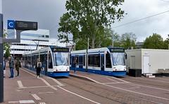 Koningsdagroutes 2019-10 (Peter ( phonepics only) Eijkman) Tags: amsterdam city combino gvb detour omleiding tram transport trams tramtracks trolley rail rails strassenbahn streetcars nederland netherlands nederlandse noordholland holland