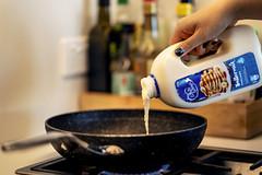 Pour (Photos By Dlee) Tags: pancakes breakfast whitewings sonyalphaa7iii sonya7iii sonya73 sony sonyalpha mirrorless fullframe fullframemirrorless sonyfe85mmf18 sony85mmf18 85mm prime primelens bokeh bokehlicious photo photosbydlee photography australia sydney newsouthwales nsw autumn kitchen fryingpan