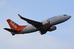 C-FANF (LAXSPOTTER97) Tags: air north boeing 737 737500 cfanf cn 27417 ln 2392 aviation airport airplane cyvr