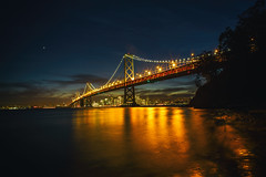Have You Ever Been Lonely? (Thomas Hawk) Tags: america bayarea baybridge california sf sfbayarea sanfrancisco usa unitedstates unitedstatesofamerica westcoast yerbabuenaisland bridge norcal sunset fav10 fav25 fav50 fav100