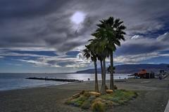 Playa del Zapillo (ZAPIGATA) Tags: sunset sun sky spain sea almeria andalucia arena atardecer paisaje playa beach mediterraneo mar palmeras zapigata