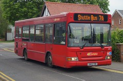 "Shortened: Trustybus (ex Metrobus 276) Dennis Dart/Plaxton Pointer MPD SN03YBK Chapel Hill Stansted Mountfitchet 17/05/19 (TheStanstedTrainspotter) Tags: bus buses stanstedmountfitchet stansted public transport publictransport bishopsstortfordinterchange""""bishopsstortford""""stanstedairport""""abbotsfordbridge""broxted""stmarysdrive""trustybusgalleon dennis dart mpd minipointerdart goahead metrobus red london tfl 276 ecc contract 7 7a 7b 7c 7d 7e essexcountycouncil sn03ybk trustybus galleontravel chapelhill stmarysdrive shuttle goaheadmetrobus bishopsstortford essex hertfordshire stanstedairport"