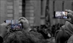 Stolen panorama (Stephen Braund) Tags: mobilephone parade valletta easter