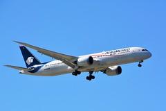 (CDG)Aeromexico Boeing B787-9 Dreamliner N-446AM (dadie92) Tags: cdg roissy landing aeromexico n446am boeing b787 b7879 dreamliner mexique spotting airplane aircraft nikon sigma d7100 tamron danieldanel