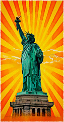 Estatua de la Libertad (WALTERTORREGROSA.ES) Tags: cuadros estadosunidos unitedstates paintings nuevayork newyork manhattan liberty libertystatue waltertorregrosa statueofliberty libertyenlighteningtheworld