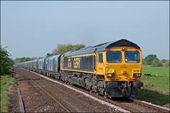 66706, Plumley (UK), 30/04/19 (bontybermo402) Tags: gm generalmotors gbrf liverpool liverpoolbulkterminal drax knutsford plumley 6e09 66706