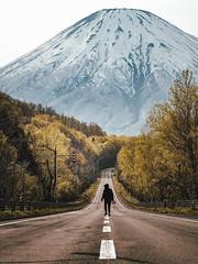 這不是富士山。|Hokkaido (里卡豆) Tags: 虻田町 北海道 日本 hokkaido jp olympusem1markii em1ii olympus40150mmf28