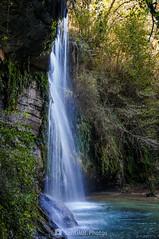 La pared de agua (SantiMB.Photos) Tags: 2blog 2tumblr 2ig joanetes lavalldenbas garrotxa girona otoño autumn cascada waterfall saltdelroure geo:lat=4211482032 geo:lon=239739863 geotagged santestevedenbas cataluna españa