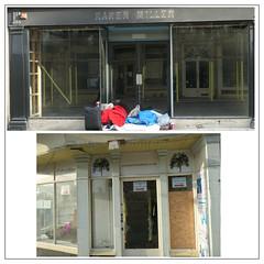 Bath - England's World Heritage city (Kernek) Tags: bath somerset england urban decay homelessness closed shops