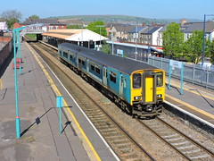 150213 (mike_j's photos) Tags: class150 150213 caerphilly arriva transportforwales sprinter