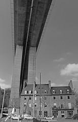 Double toit Verso (Arnadel) Tags: pont port le legue stbrieuc quai bretagne viaduc