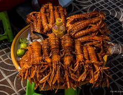 2019 - Cambodia - Sihanoukville  - Ochheuteal Beach - 3 of 5 (Ted's photos - Returns late November) Tags: 2019 cambodia cropped nikon nikond750 nikonfx tedmcgrath tedsphotos vignetting sihanoukville sihanoukvillecambodia onebottle lobster fish seafood limes food claws ochheutealbeach sihanoukvilleochheutealbeach ochheutealbeachsihanoukville