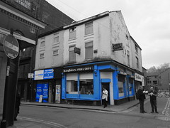 Manchester (1128) (benmet47) Tags: street city urban building architecture shop chipshop