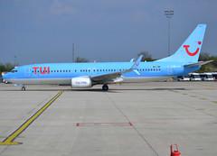 "OO-JAH, Boeing 737-8K5(WL), 37260 / 3688, TB-JAF-Beauty-TUI Airlines Belgium, ""Perspective"", CDG/LFPG 2019-04-14, departing Quebec ramp at Terminal T3. (alaindurandpatrick) Tags: tb jaf tuiairlinesbelgium beauty airlines airliners jetliners 737 738 737ng 737800 boeing boeing737 boeing737800 boeing737nextgen cdg lfpg parisroissycdg airports aviationphotography oojah 372603688"