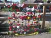 Yarnbomb at Abbotts Ann Village Shop (T Stokes) Tags: yarnbomb
