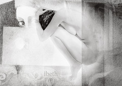 water's women (20). (ibethmuttis) Tags: ibeth panasonic water woman artistic work bw emotion texture monochrome dream expression