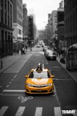 Prince St., Soho, New York (yravaryphotoart.com) Tags: princestsohonewyork newyork soho yellowcab taxi canoneos7d canon canonef40mmf28stmpancake yravary yravaryphotoart nyctaxi