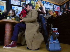 A Busy Night In the 'Arms' (4) (Blondeactionman) Tags: doctorwho k9 ammoarms bamhq hottoys onesixth onesixthscale diorama dollphotography