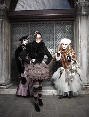 Bleu Astral, Enora & Nathalie Ramos (Claude Schildknecht) Tags: bleuastral carnaval carnevaledivenezia2019 carnival costume enora italia italie italy nathalieramos sanzaccaria venedig venezia venice venise