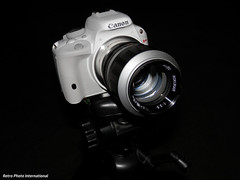 Rokunar on EOS (Retro Photo International) Tags: auto rokunar 135mm 35 lens sl1 canon camera