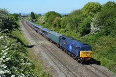 47815. Cheltenham. 13-05-2019 (*Steve King*) Tags: 47815 class 47 5l46 great western mk3 stock coaches cheltenham hatherley bristol st phillips marsh ely papworth sidings duff rail operations group storage