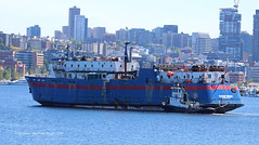 4579_Ocean Fresh_Ruby VIII (lg evans Maritime Images) Tags: maritimeimages ©lgevans lgevans tugs rubyviii fvoceanfresh portofseattle lakeunion