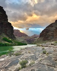 Headed to Vegas today to launch another river trip tomorrow! We might get some mixed weather this weekend. I'm kinda hoping we do, because it makes for the best pics, like this one I got 2 weeks ago during rainy weather. #grabdcanyon #coloradoriver #weath (Nate Loper - #ArizonaGuide) Tags: southwest grand canyon arizona flagstaff outdoors landscape nature getoutside travel scenic royalty free to use seetheworld photography editorial sky clouds park geology desert adventure explore guidelife arizonaguide