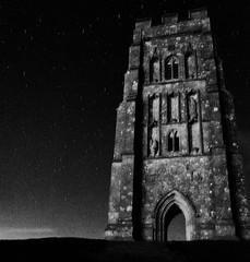 Glastonbury Beltane Tor (Bone Setter) Tags: glastonbury tor glastonburytor night stars dark 2019 beltane