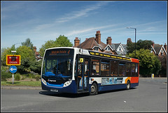 Stagecoach 36210 (Jason 87030) Tags: stagecoach midlands warks warwickhire rugby sign cycle black 96 4 twin evil e200 enviro shot session sun color colour transport sony ilce alpha a6000 lens tags album fave wheels transportation pest