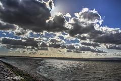 Sky (Josè M.Costa) Tags: luz rio river sky nuvens tejo tagus barreiro portugal